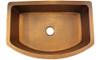 Eclectica Rhone Single Bowl Copper Kitchen Sink