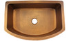 Eclectica Rhone Single Bowl Copper Kitchen Sink