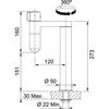 Franke Vital Capsule 2-in-1 Single Dispense Filter Tap