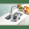 Franke Zurich Chrome Kitchen Tap with FREE Franke Sink