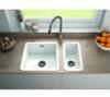 Thomas Denby Metro Half Bowl Sink