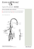 Perrin & Rowe Etruscan 4350 (with Rinse) Kitchen Tap - Bronze Finish