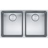 Franke Mythos MYX 120-34-34 Stainless Steel Sink