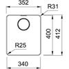 Franke Mythos MYX 210-34 Stainless Steel Sink