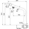 Franke Icon Mono Hole Swivel Spout Mixer Kitchen Tap