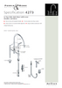 Perrin & Rowe Io 4273 (with Rinse) Kitchen Tap