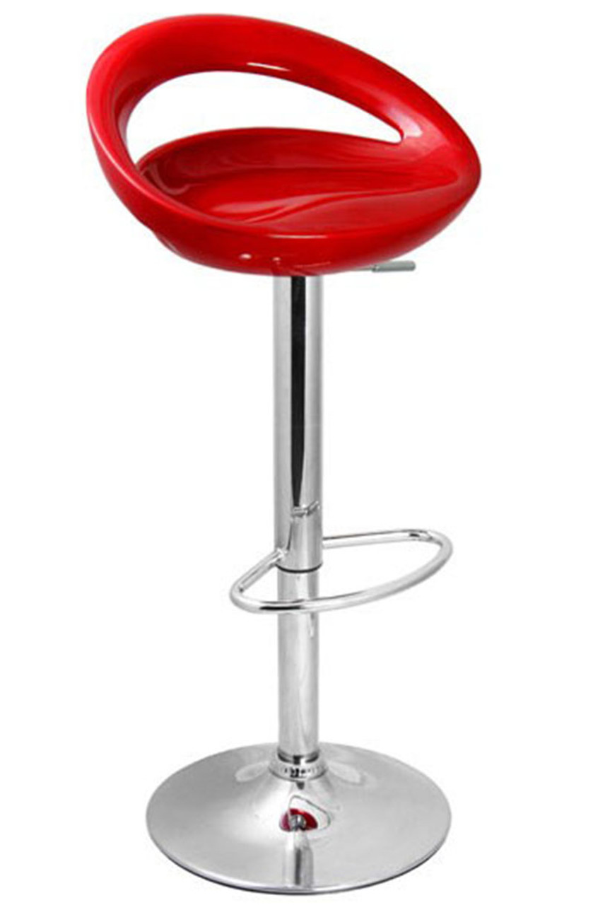 Bar Stool Red Customer Image Buy   95