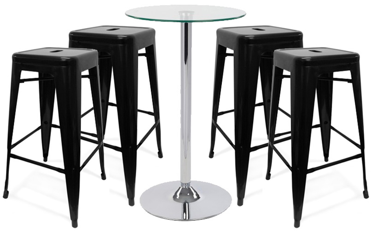Fantastic Oslo Bar Stool And Como Table Package Caraccident5 Cool Chair Designs And Ideas Caraccident5Info
