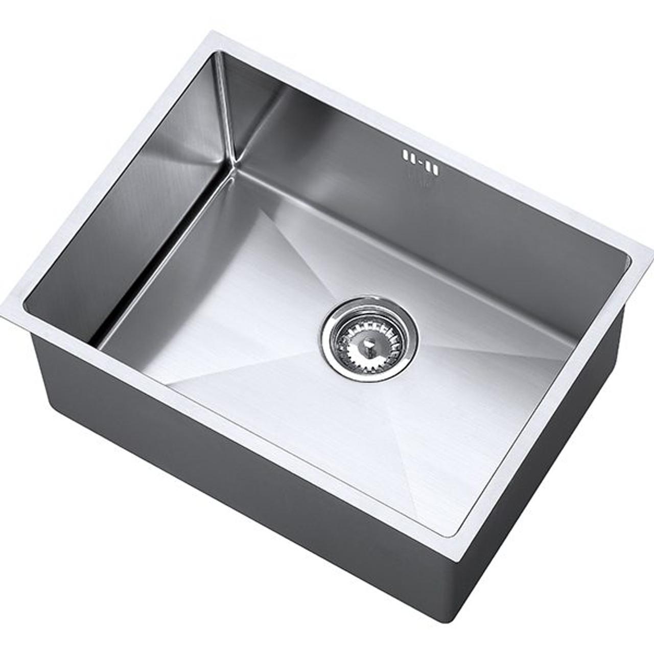 1810 Zenuno15 550u Deep Single Kitchen Sink Bowl Sinks
