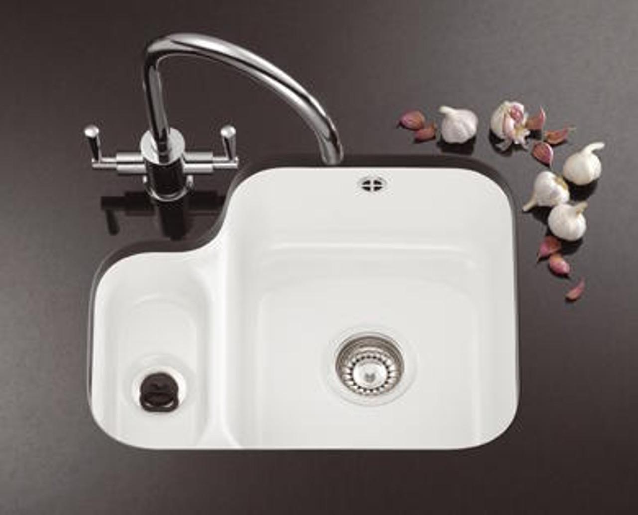 Strange Franke Vbk160 Ceramic White Kitchen Sink Beutiful Home Inspiration Aditmahrainfo
