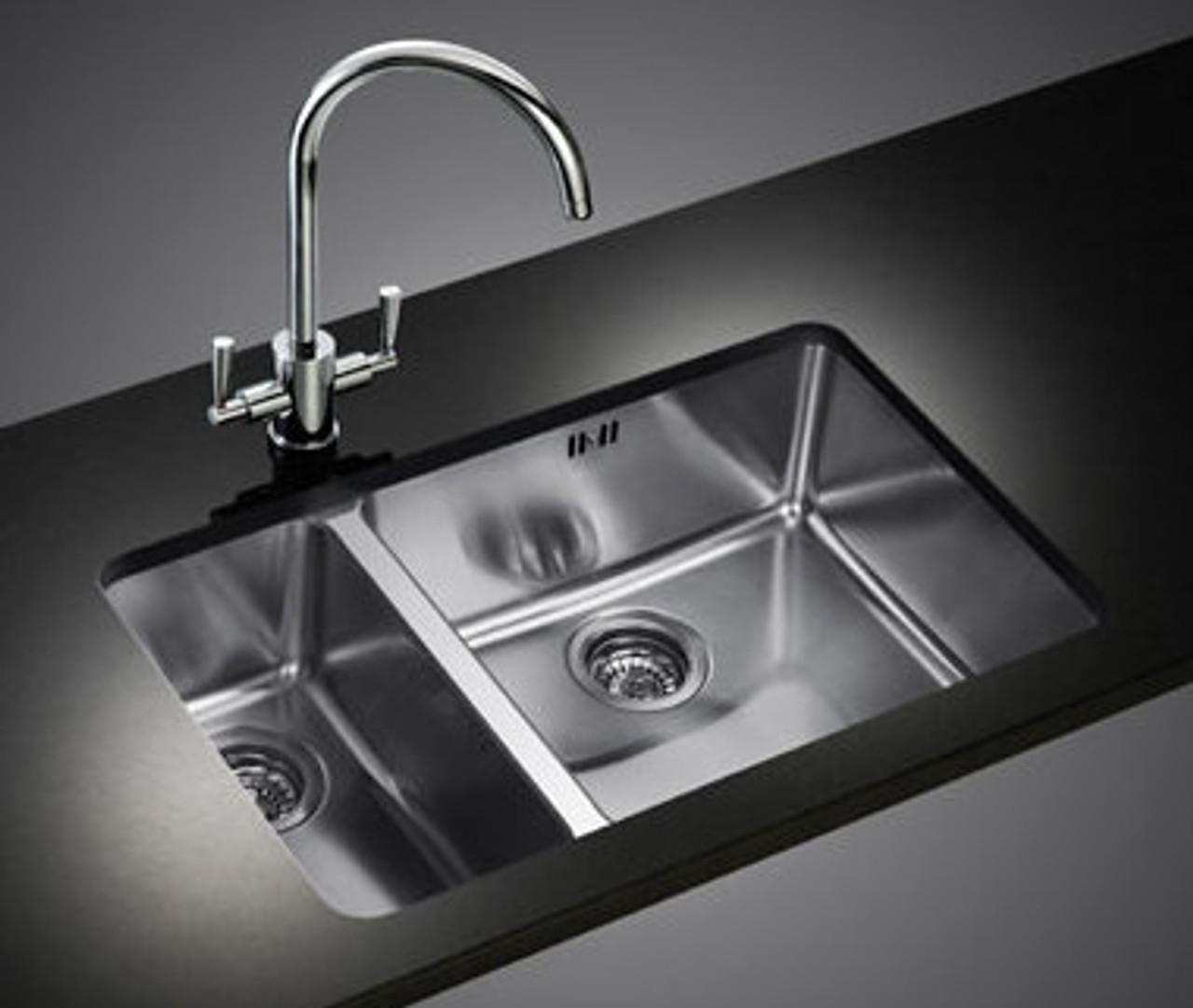 Awe Inspiring Franke Kubus Kbx160 45 20 Stainless Steel Kitchen Sink Home Interior And Landscaping Ologienasavecom