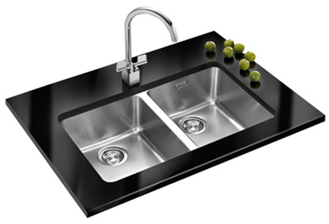 Brilliant Franke Kubus Kbx120 34 34 Stainless Steel Kitchen Sink Home Interior And Landscaping Ologienasavecom