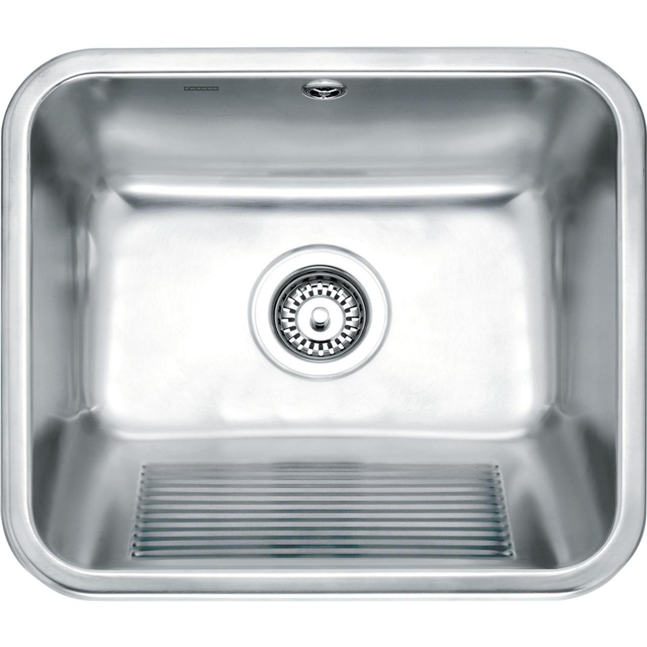 franke utility utx610 stainless steel kitchen sink - sinks