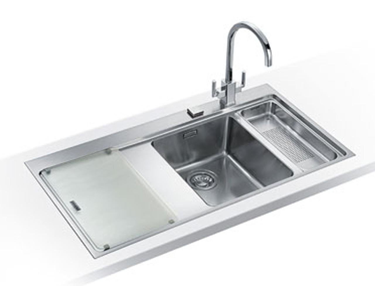 Groovy Franke Mythos Mmx261 Stainless Steel Kitchen Sink Home Interior And Landscaping Ologienasavecom
