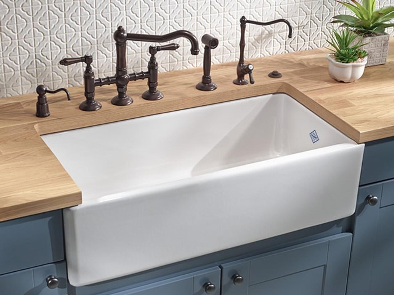 Shaws Butler 1000 Single Bowl Ceramic Kitchen Sink