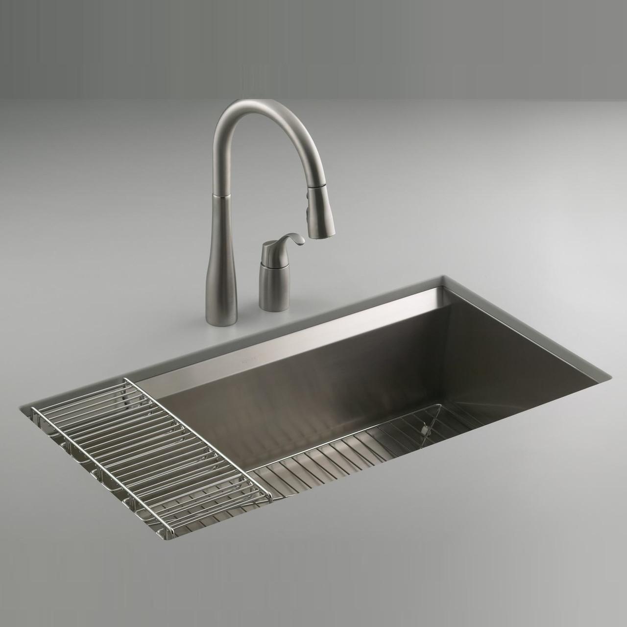 Kohler 8 Degree Single Bowl Kitchen Sink