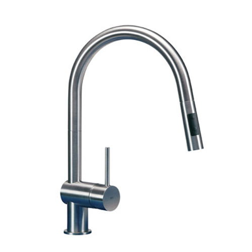 MGS Vela D Pull Out Kitchen Tap - Polished