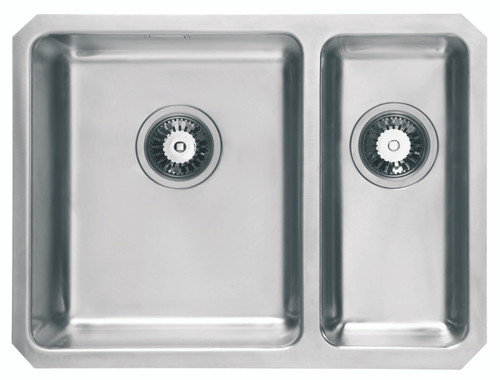 Brass & Traditional Oasis Combi Stainless Steel One + Half Bowl Undermount Sink