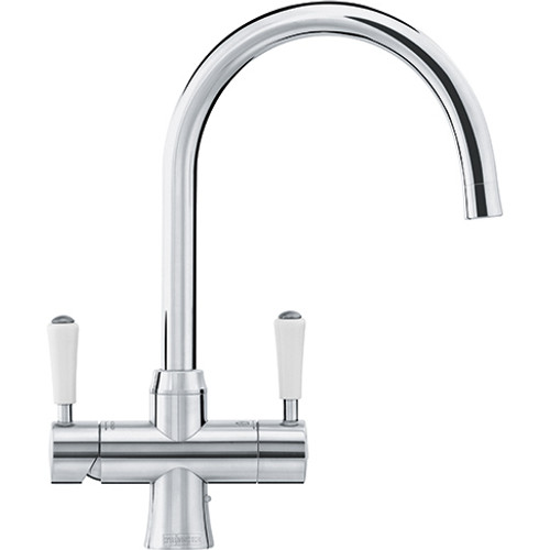 Franke Omni Classic 4in1 Kettle Tap Stainless Steel - Complete with heater & filter kit - 119.0438.426