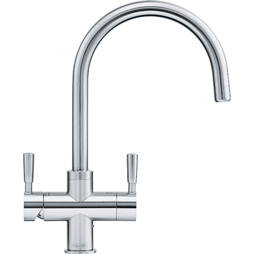 Franke Omni 4in1 Kettle Tap Stainless Steel - Complete with heater & filter kit