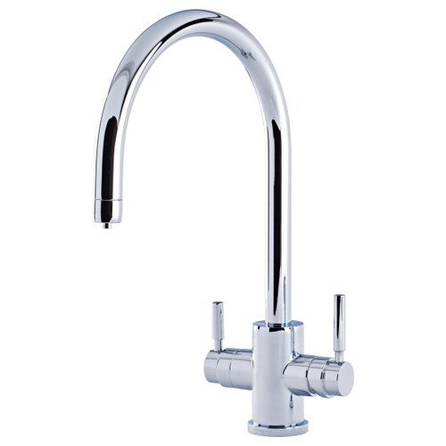 Perrin and Rowe Phoenix 3 in 1 Instant Hot Water Tap with C Spout, Digital Tank and Filter