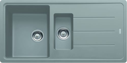 Franke Basis BFG651 Fragranite Stone Grey Kitchen Sink (Reversible)