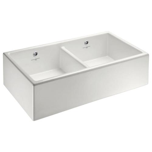 Perrin Rowe Shaker 900 Double Bowl Kitchen Sink