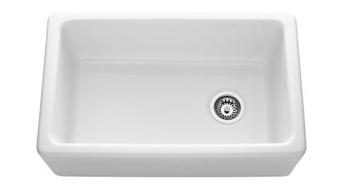 Chambord Philippe II White Ceramic Kitchen Sink