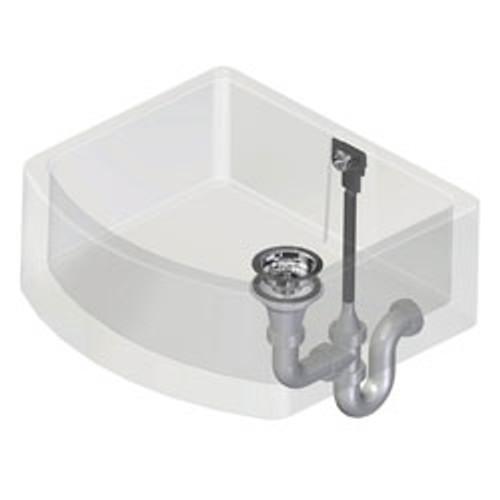Perrin & Rowe Single Bowl Waste and Overflow Kit