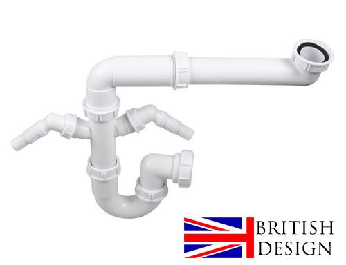 Kit de plomberie à cuve unique British Precision Plumbing