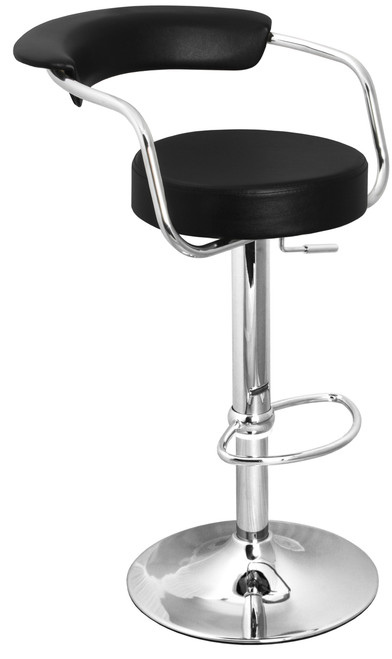 Remarkable Zenith Bar Stool Black Spiritservingveterans Wood Chair Design Ideas Spiritservingveteransorg