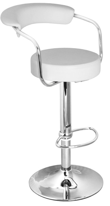 Zenith Bar Stool White