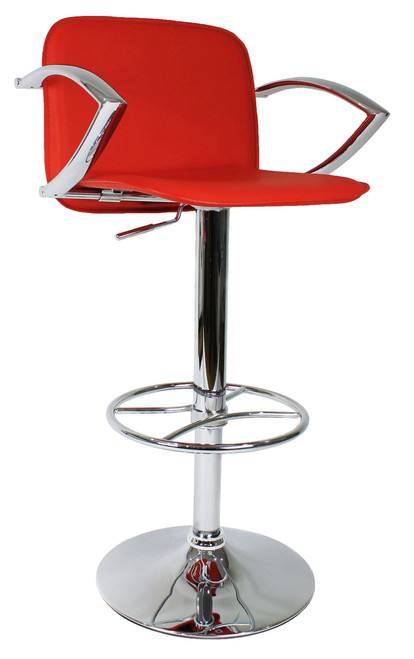 Swell Bueno Bar Stool Red Unemploymentrelief Wooden Chair Designs For Living Room Unemploymentrelieforg