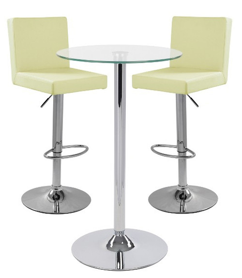 Alessa Bar Stool and Como Table Package