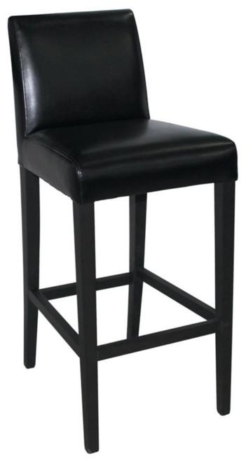 Stratos Bar Stool Black