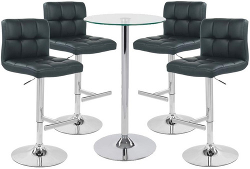 Allegro Bar Stool and Como Table Package