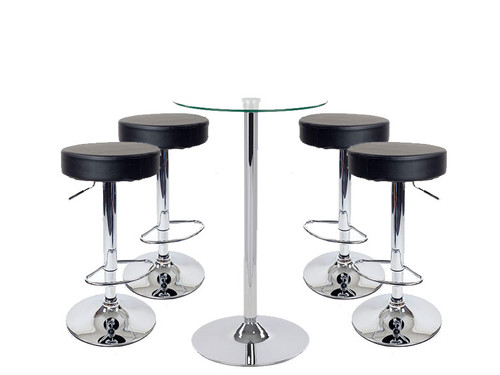Semplice Bar Stool and Como Table Package