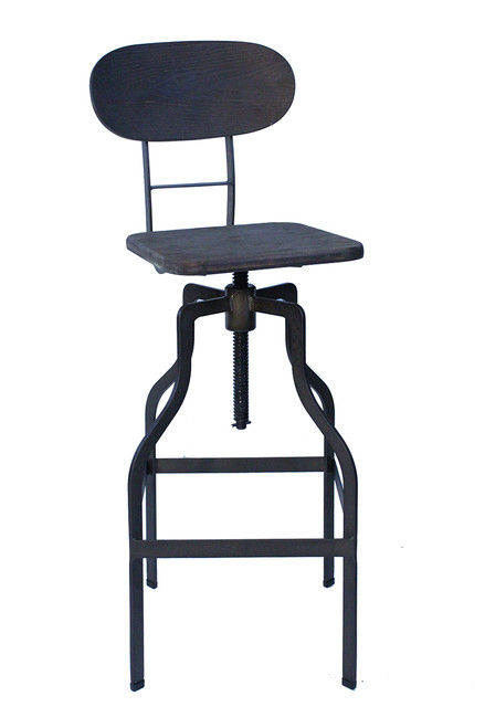 Bolzano Vintage Bar Stool Brown