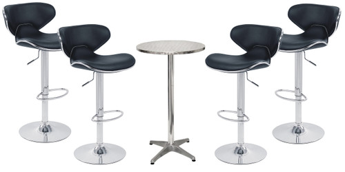 Carcaso Bar Stool and London Table Package