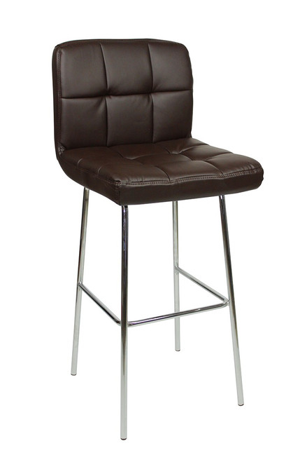 Allegro Fixed Height Bar Stools Brown