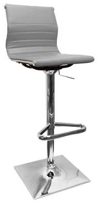 Pleasant Rovigo Bar Stool Grey Caraccident5 Cool Chair Designs And Ideas Caraccident5Info
