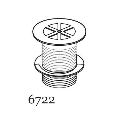 Perrin & Rowe 6722 Shower Waste, 85mm Flange