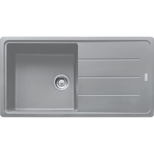 Franke Basis BFG611-970 Reversible Fragranite Stone Grey Kitchen Sink