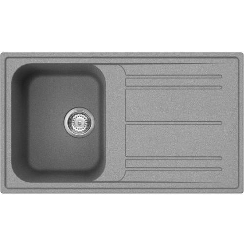 Smeg LZ861 Rigae Single Bowl Kitchen Sink With Drainer