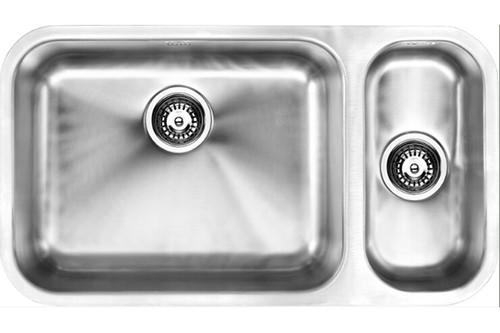 1810 Etroduo 535/191U BBL One + Half Bowl Kitchen Sink