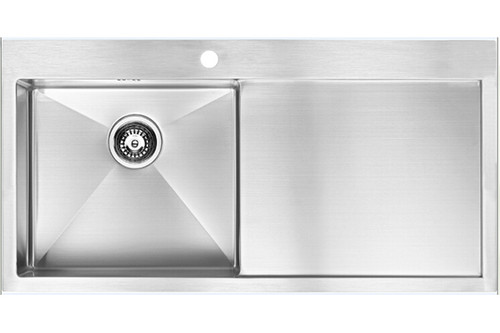 1810 Zenuno15 5 I-F BBL Single Bowl with Drainer Kitchen Sink