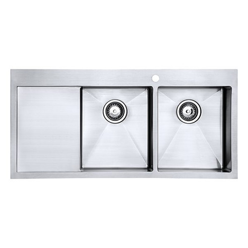 1810 Zenduo15 34/34 I-F BBR Double Bowl Kitchen Sink