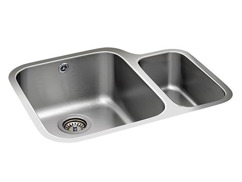 Tagus Cuenca One + Half Bowl Stainless Steel Kitchen Sink