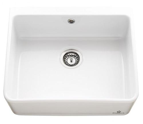 Chambord Clotaire I Le Grand White Ceramic Kitchen Sink