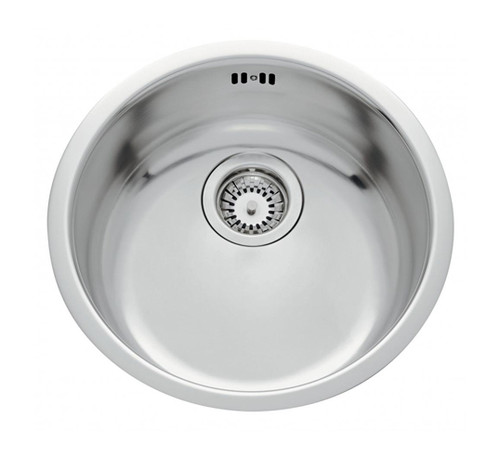 Luisina Cinzia 1 Stainless Steel Undermount Bowl